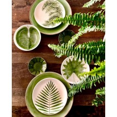Leaf Patterned Bowl - KS-19KSTRP017