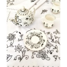 Gossip Girls Patterned Teapot - DM-19DMSB003