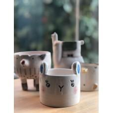 Bunny Formed Pot - SK-19SKHYV036