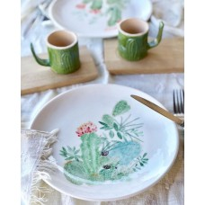 Cactus Patterned Plate - TB-19TBTRP021